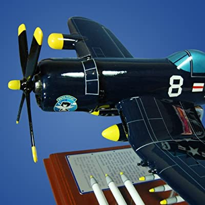 Mastercraft Collection Planes and Weapons Series Vought F-4U-5NL Night Corsair Model Scale:1/39