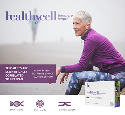 51QsCgwDkxL - Healthycell Telomere Length Supplement with AC-11 - Supports Lengthening of Telomeres Safely Through DNA Repair - Anti Aging Product for Healthy Aging - Cell Health - Lifespan - Stem Cell - Non-GMO