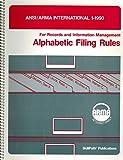 Alphabetic Filing Rules 9780933887008