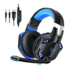 KOTION EACH G2000 HeadsetProduct Introduction: This KOTION EACH G2000 is a primary kind of gaming headset, which brings you vivid sound field, sound clarity, sound shock feeling, capable of various games. Its super soft Over-ear pads is more ...
