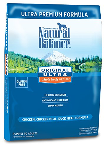 Natural Balance Dry Dog Food Ultra Premium Whole Body Health Formula 30-pound bag