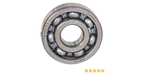 6302-2NSE Nachi 15x42x13 C3 15mm//42mm//13mm Japan Ball Radial Ball Bearings