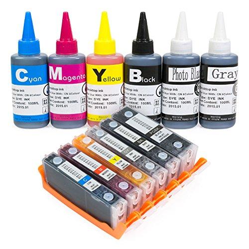 6c Canon Cyan Ink Cartridge - 6