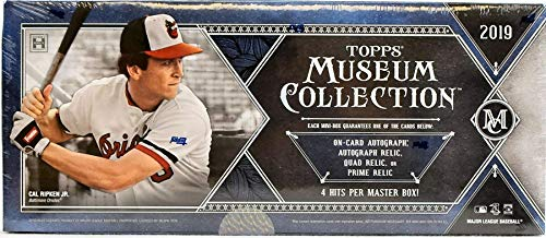 Amazoncom 2019 Topps Museum Collection Baseball Hobby Box