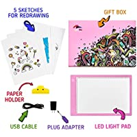 Paintinc Tracing Light Box – Amazing Drawing Pad for Artists of Any Age – Ultra-thin USB Power LED Light Table - for Drawing, Sketching, Animation – Stylish Box, Ideal Gift for Kids & Adults