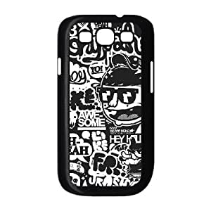 Bloomingbluerose Typography Samsung Galaxy S3 Cases Oh Yeah Typography, [Black]
