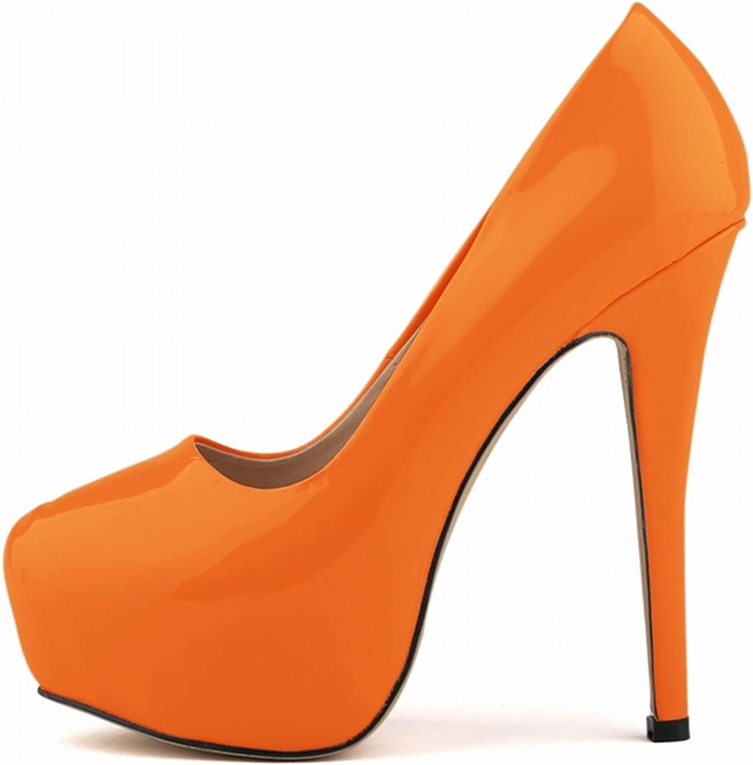 Rngtaqubeic Fashion PU Leather Women Pumps Female Casual Solid Platfrom Nightclub Shoes
