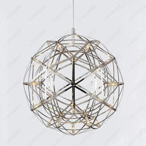 FidgetGear 6W/10W/15W LED Firework Pendant Light Ball-Shape Ceiling Lamp Fixture Canteen 15W(45cm/18) by FidgetGear (Image #7)