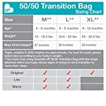 Love-To-Dream-Swaddle-UP-5050-Transition-Bag-Lite-White-Medium-13-19-lbs-Patented-Zip-Off-Wings-Gently-Help-Baby-Safely-Transition-from-Being-swaddled-to-arms-Free-Before-Rolling-Over