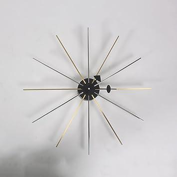 HHYS Sternchen Uhr Silber Gold Mitte Des Jahrhunderts Dänisch Stil H121