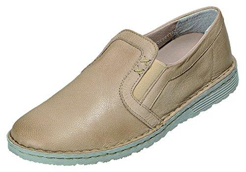 De Shoe Nappa Osso Natur À Lacets Femme Chaussures Pour 119 Beige Ville 196 Relaxshoe Relax atpxqdwFq