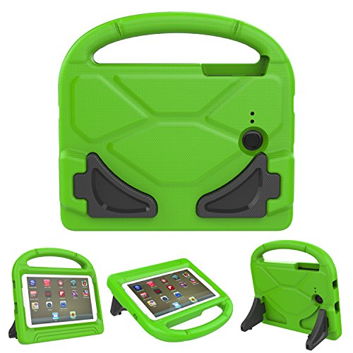 KROMI Tab E Lite 7.0 Case ShockProof Kids Case Protection Cover Handle Stand Case for Samsung Galaxy Tab 3 Lite 7.0 SM-T110 (2014)/Tab E Lite 7-Inch Tablet SM-T113 (2016), Green (Nextbook 7 Tablet Camo Case)