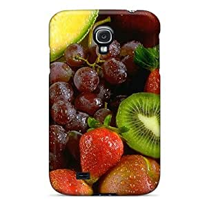 Ultra Slim Fit Hard Mialisabblake Case Cover Specially Made For Galaxy S4- Fruit