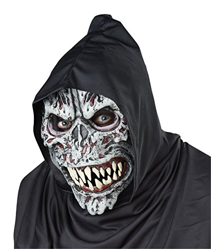 California Costumes Men's Night Fiend Mask,Assorted,One Size (Halloween Masks Scary)
