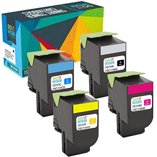 Do it Wiser Compatible Toner for Lexmark CS310dn CS410dn CS3