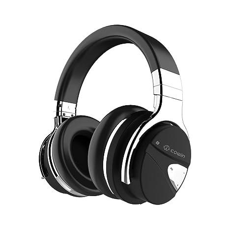 COWIN E7 Auriculares inalámbricos Bluetooth con Bajos Profundos, Almohadillas de Protección,