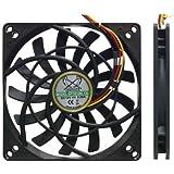 Punctual Scythe Sy1012sl12m Kaze Jyu Slim 100mm Case Fan 2000 Rpm Computer Components & Parts