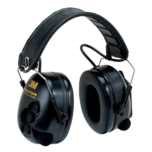 3M Peltor TacticalPro Communications Headset MT15H7F SV, Hearing Protection, Ear Protection, NRR 26 dB Excellent for heavy equipment operators, airport workers, shooting and industrial workers by 3M