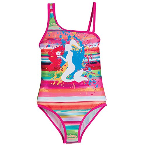 Beachcombers Coastal Life Rainbow Mermaid Suit Pnk (L (9/10 Years))