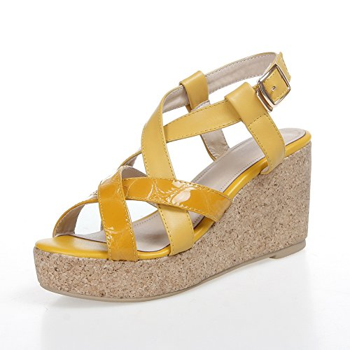 BalaMasa , Sandales pour femme - Jaune - jaune, 38 high-quality ... 18f7128a84b7