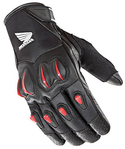 - Joe Rocket Cyntek Honda Gloves (Large) (Black/RED)