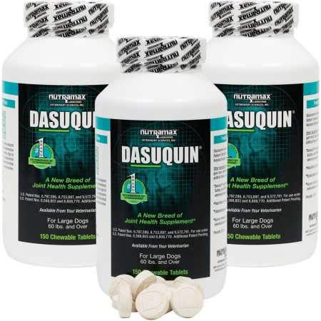 Dasuquin 3PACK for Large Dogs (450 Chewable Tabs)
