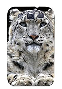 Galaxy S3 Case - Tpu Case Protective For Galaxy S3- Snow Leopard Case For Thanksgiving's Gift