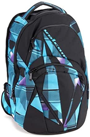 Volcom Men's Purma Backpack, Blue Plaid, One Size
