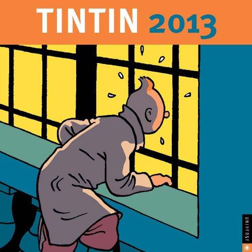 Tintin 2013 Wall Calendar - Tintin Calendar