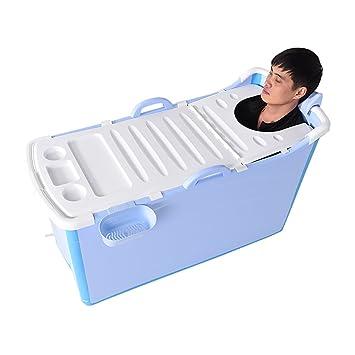 l Zusammenklappbare Badewanne Home Plastic Erwachsene Badewanne ...