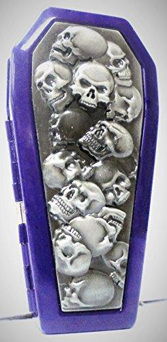 Purple Skulls Raised Cigarette 3101COFSKS