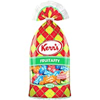Kerr's Fruitaffy Assortment with 4 Different Flavors of Watermelon, Blue Raspberry, Green Apple and Orange {Proudly Made in Canada} (1 - Bag)