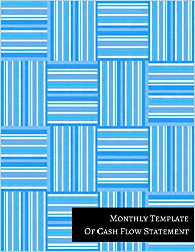 Monthly Template Of Cash Flow Statement