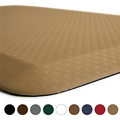 "The Original 3/4"" KANGAROO (TM) Non-Slip Anti-Fatigue Comfort Mat, Ergonomically Engineered, Non-Toxic, Waterproof"
