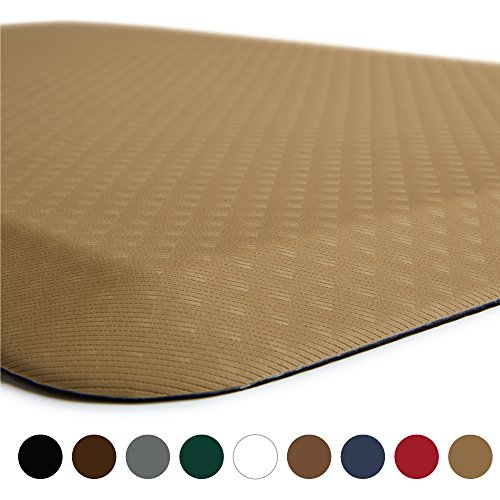 "The Original 3/4"" KANGAROO (TM) Anti-Fatigue Comfort Mat Kitchen Rug, Ergonomically Engineered, Non-Toxic,"