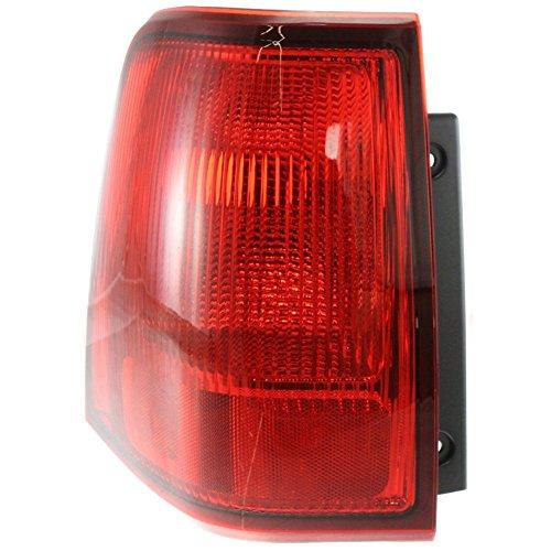 Evan-Fischer EVA15672028370 Tail Light for Lincoln Navigator 03-06 Outer Lens and Housing Left Side