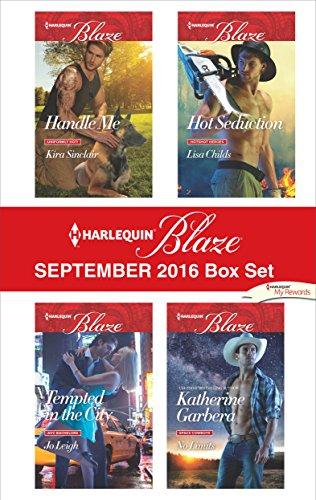 book cover of Harlequin Blaze September 2016 Box Set