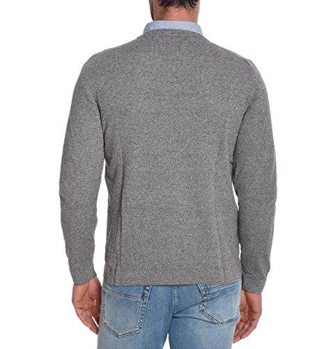 Eleventy Herren 979MA3001MAG1900317 Grau Baumwolle Sweater ...