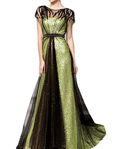 green formal dresses brisbane - 1