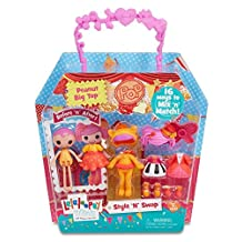 Lalaloopsy 541349 Mini Style 'N' Swap Doll-Peanut Big Top Doll