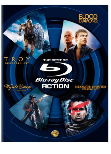The Best of Blu-ray: Action (Troy Director's Cut / Blood Diamond / Wyatt Earp / Alexander Revisited The Final Cut)
