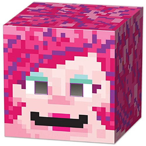 8-Bit Box Head Party Game - Gamer Girl