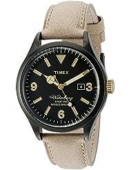 Timex Mens TW2P74900AB Heritage Collection Analog Display Quartz Beige Watch
