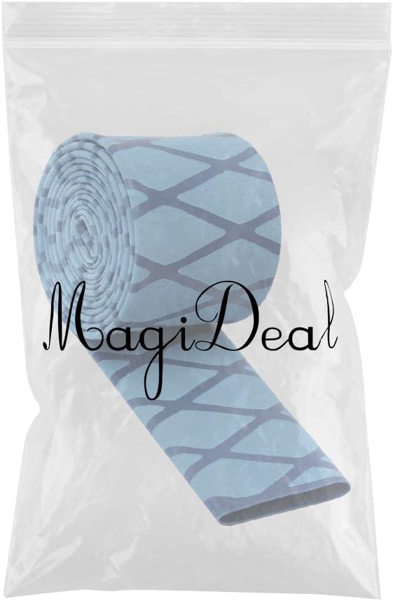 MagiDeal Gleitsicher Warmschrumpfschlauch strukturiert Schlauchband f/ür Angelger/äte /& Sportger/äte