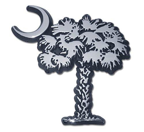 (South Carolina Palmetto Chrome Auto Emblem)