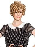 Enigma Wigs Women's Dimples, Blonde, One Size