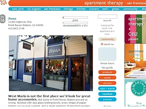 Amazon.com: Apartment Therapy San Francisco: Kindle Store