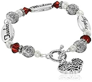 Expressively Yours Bracelet Teacher, 8""