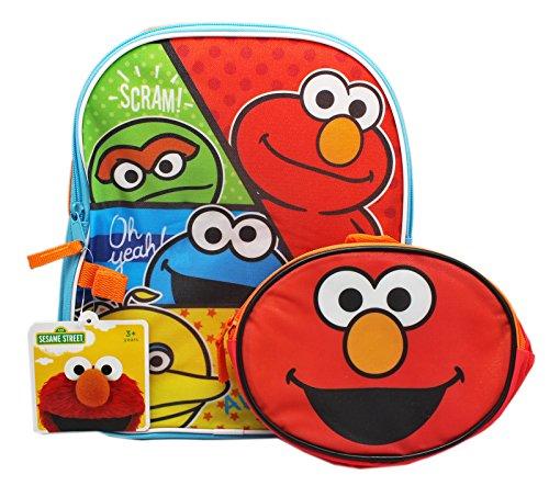 Sesame Street Elmo Backpack Lunch