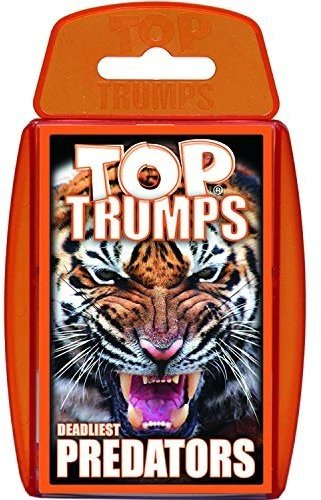 Top Trumps Predators Card Game | Educational Card Games